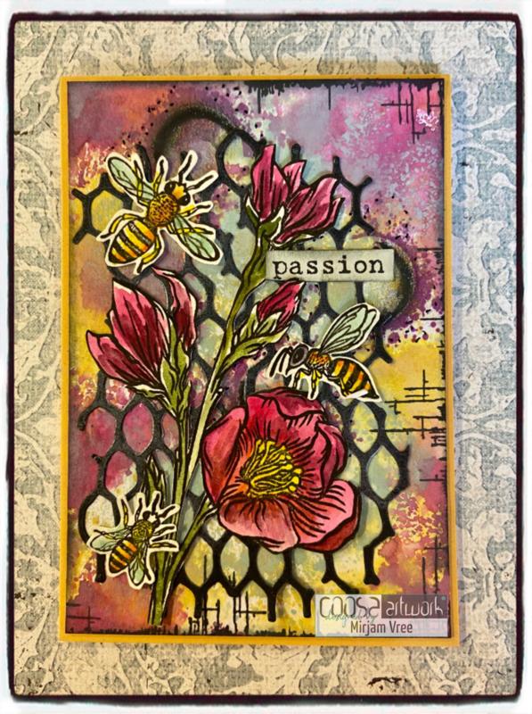 Postal Flowers 3 - II