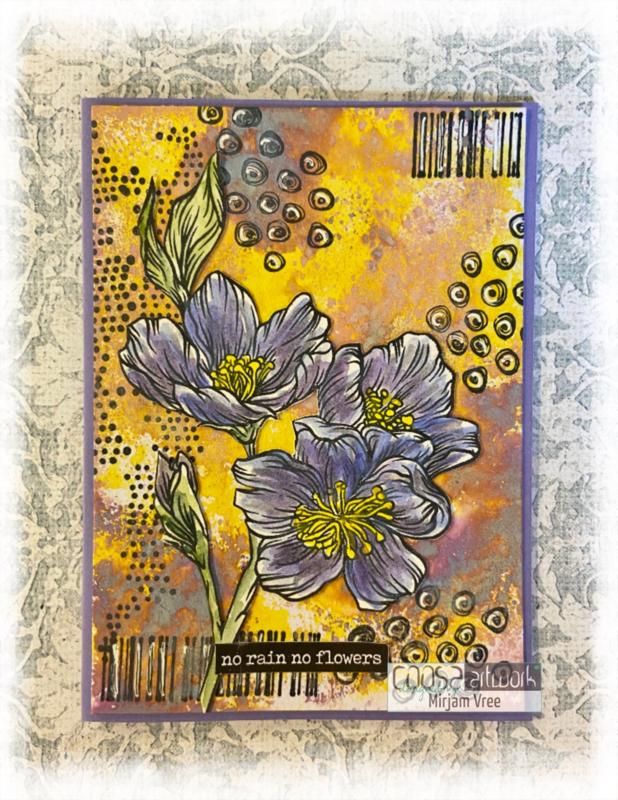 Postal Flowers 2 - I