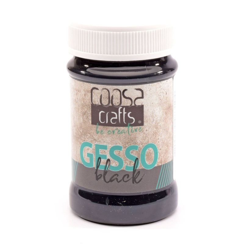 COOSA Crafts Gesso Black - 100 ml