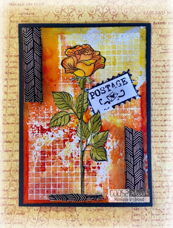 Postal Flowers 1 - II