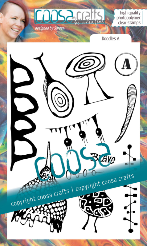COOSA Crafts Clear Stamps #19 - Junk Journal Doodles A by Soraya