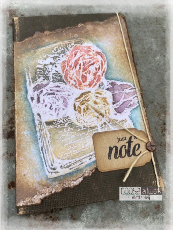 Sending Flowers - notitieboekje