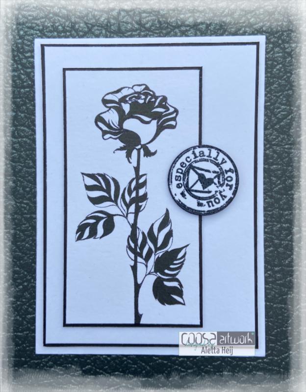 Postal Flowers 1 - IV