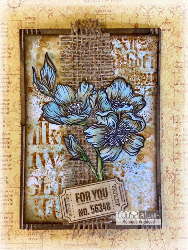 Postal Flowers 2 - II