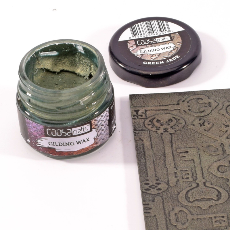 COOSA Crafts Gilding Wax - 20ml -  Jewels - Green Jade