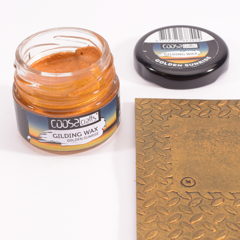 COOSA Crafts Gilding Wax - 20ml - Twilight - Golden Sunrise