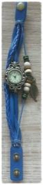 Horloge - Vintage blauw