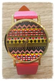 Horloge - Hippie roze