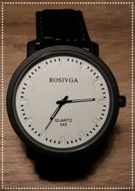 Horloge - Rosivga zwart