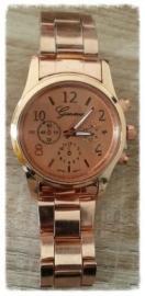 Horloge - roségoud