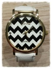 Horloge - Golven wit