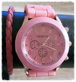 Setje - Roze geneva