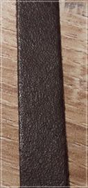 Leren armband - Donkerbruin