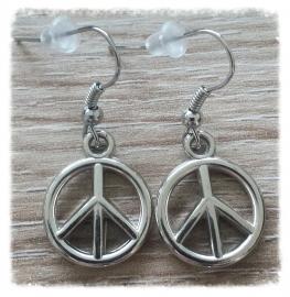 Oorbellen - Peace