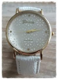 Horloge - Glinsterend wit