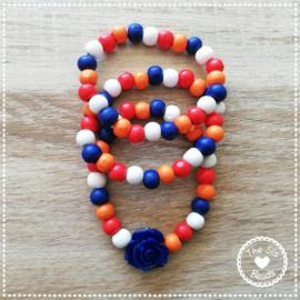 Koningsdag - Rood-Wit-Blauw