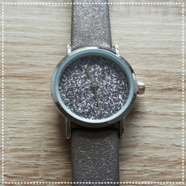 Horloge - Ernest chic beige/grijs