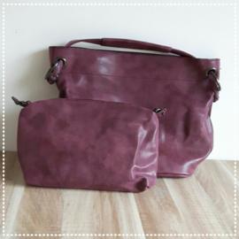 Tas bag in bag - Bordeaux rood