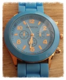 Horloge - Geneva lichtblauw
