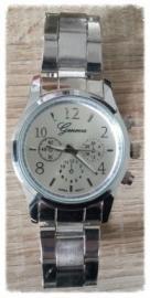 Horloge - zilver