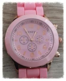 Horloge - Geneva roze