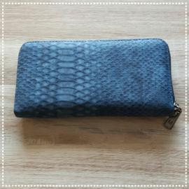 Portemonnee - Blauw gestreept