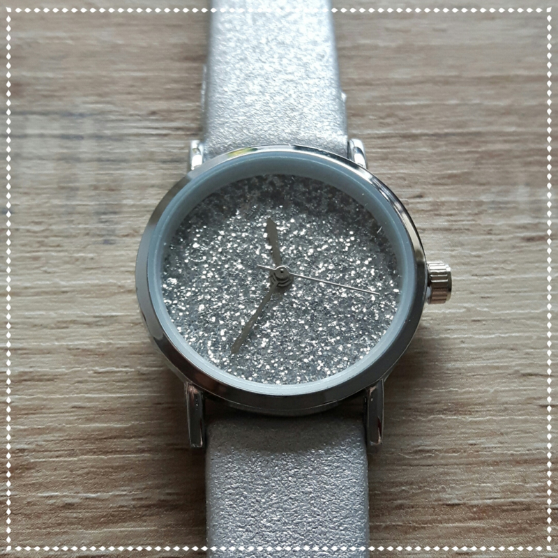 Horloge - Ernest chic zilver