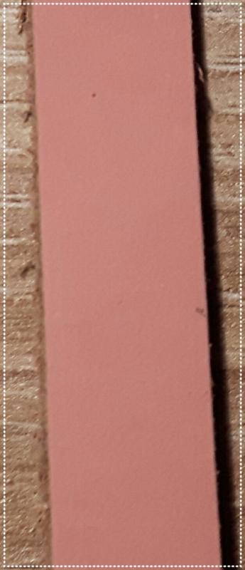Leren armband - Roze