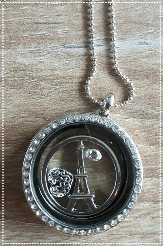 Herinneringsketting - Parijs love