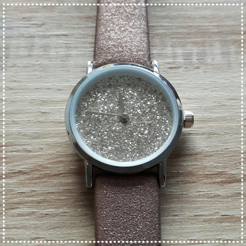 Horloge - Ernest chic bruin