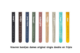 Losse bandjes DAMES (single-double)