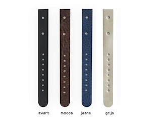 Separate strap MEN leather or cork