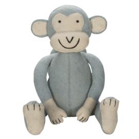 Jungle monkey blue