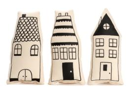 Huisje met 2, 3 of 4 ramen