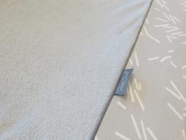 Aankleedkussenhoes Grey Confetti