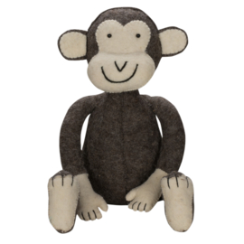 Jungle monkey brown