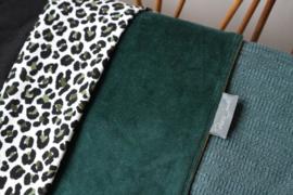 Ledikantlaken - Velvet panter emerald