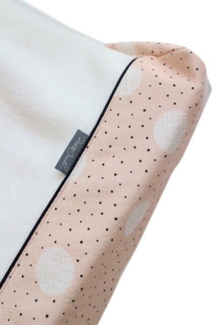 Aankleedkussenhoes Pink dot