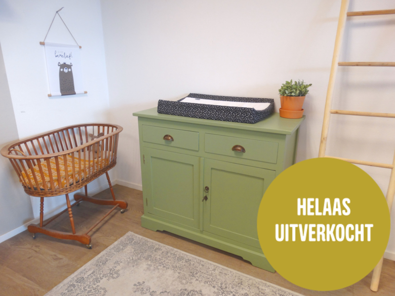 Commode - Warm Groen
