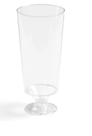 Glas, champagneglas, PS, 200ml, 138mm.glashelder.
