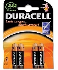 Duracell Plus Power AAA Blister 4