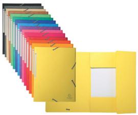 EXACOMPTA Elastomap,  A4, Karton 425 g/m (B)240 x (H)320 mm dossier tot 35 mm