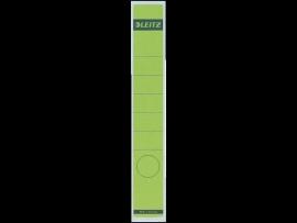 Rugetiket Leitz zelfklevend 1648 38X290MM 10 stuks groen