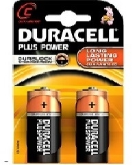 Duracell Plus Power C Blister 2