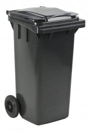 Mini-container 120 ltr grijs