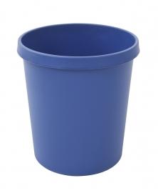 Ronde papierbak 18 ltr blauw