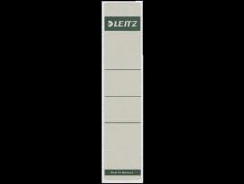 Rugetiket Leitz zelfklevend 1643 38X190MM 10 stuks wit