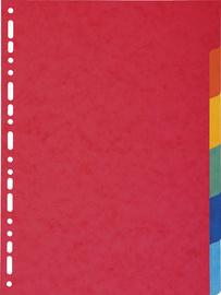 EXACOMPTA karton tabbladen 220 g, DIN A4, 6-delig