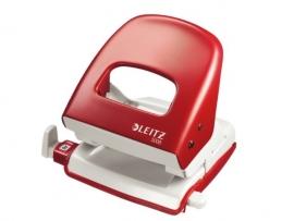 Perforator Leitz 5008 2-gaats 30vel rood