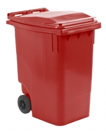 Mini-container 360 ltr rood